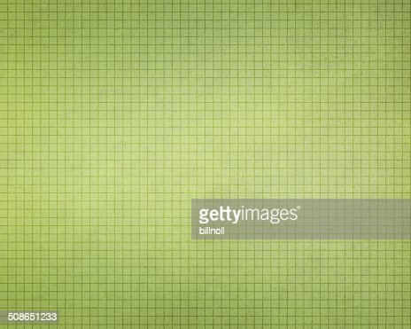 vintage light green graph paper : Stock Photo