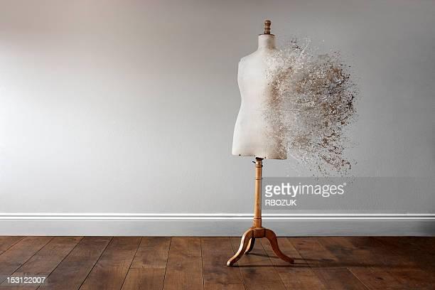 Vintage Mannequin Explosion