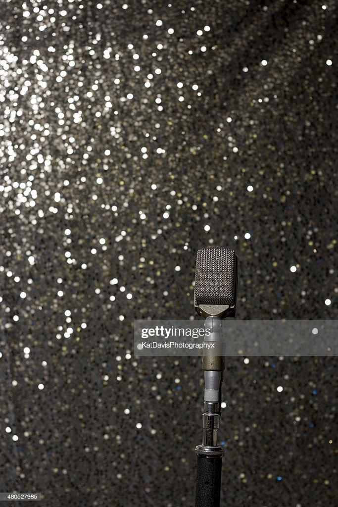 Vintage Microphone : Stock Photo