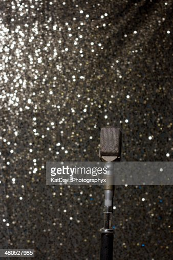 Vintage Microphone : Stock Photo