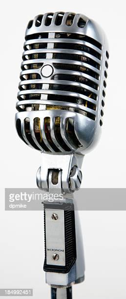 Microfono vintage retrò attrezzature audio