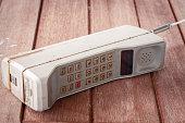 vintage mobile phone (vintage style)