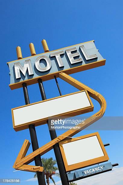 Vintage Motelschild Ansicht 2