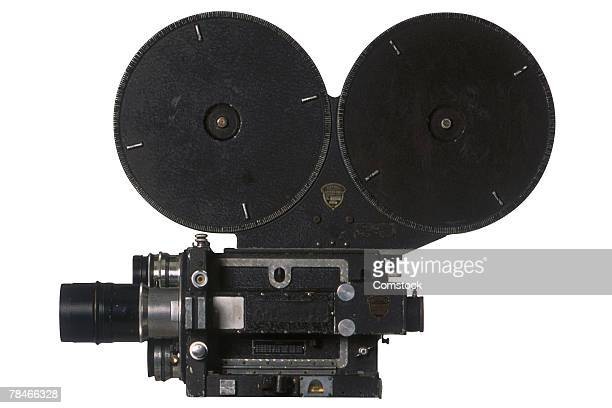 Vintage motion picture camera