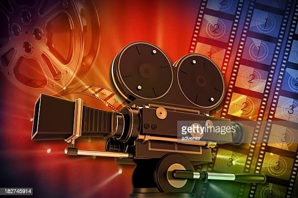 Vintage película de cámara
