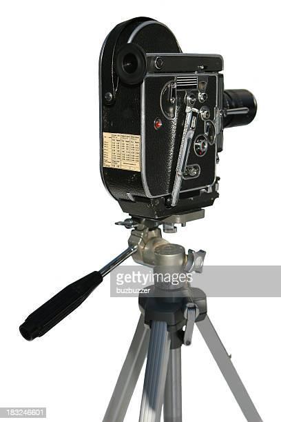 Vintage Movie Maker on White Background