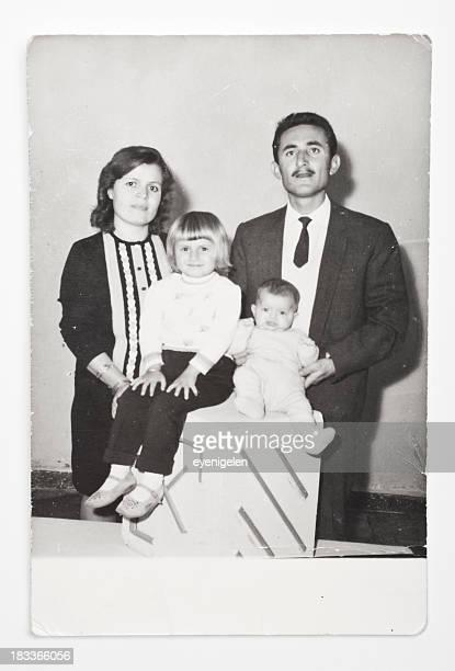 Vecchia foto di famiglia