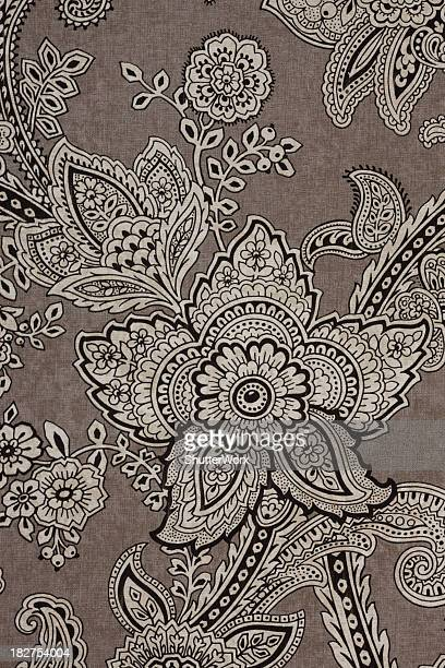 Vintage Paisley Retro Wallpaper
