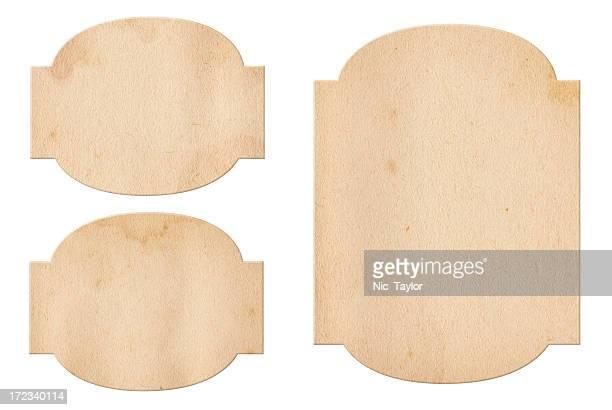 Vintage Paper Labels XXXL