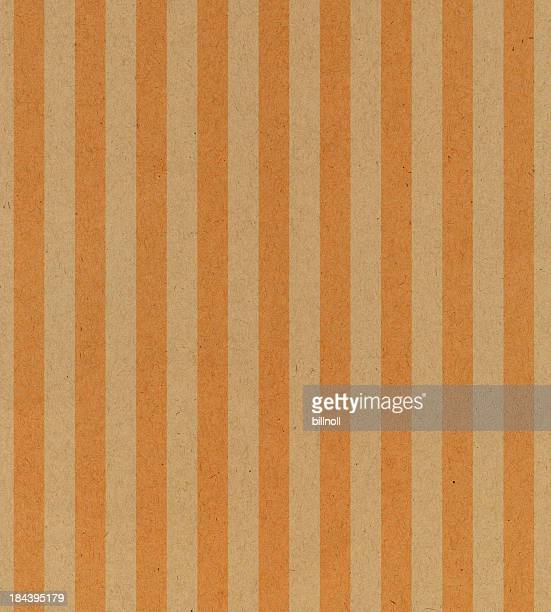 vintage paper with orange stripe