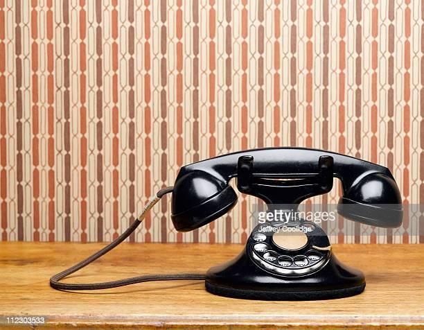 Vintage Phone on Table