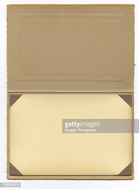 Vintage Photo Frame with Cover