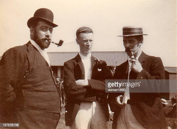 Vintage photograph Victorian Men