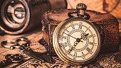 Vintage Pendant Watch Necklace