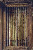 Vintage Wooden Cage