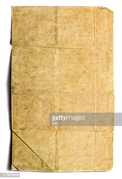ビンテージアイテムの紙
