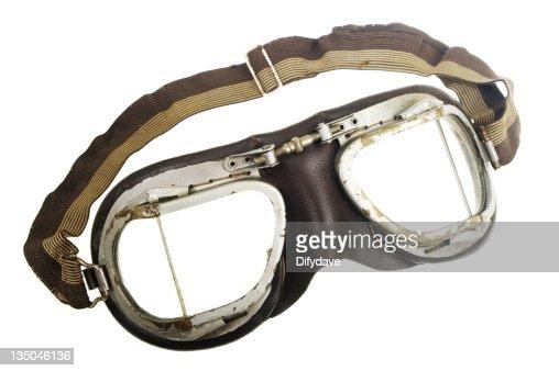 Frire paire de lunettes de pilote