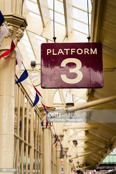 Vintage Platform Sign