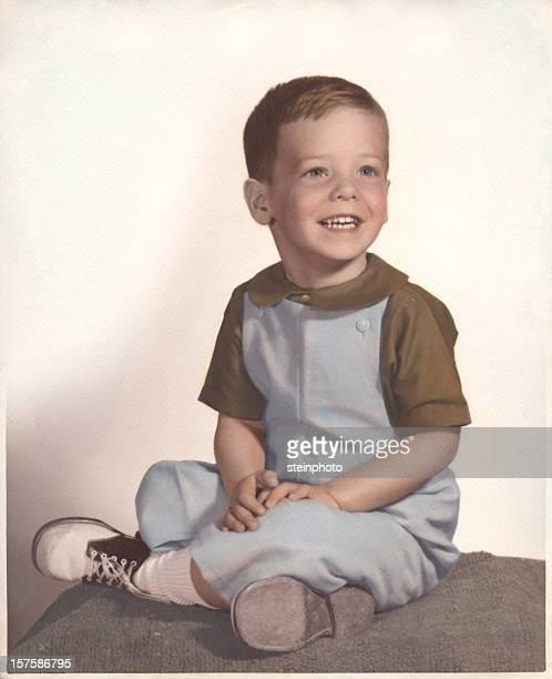 Vintage Portrait de jeune garçon