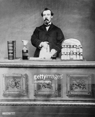 Vintage portrait of man : Stock Photo
