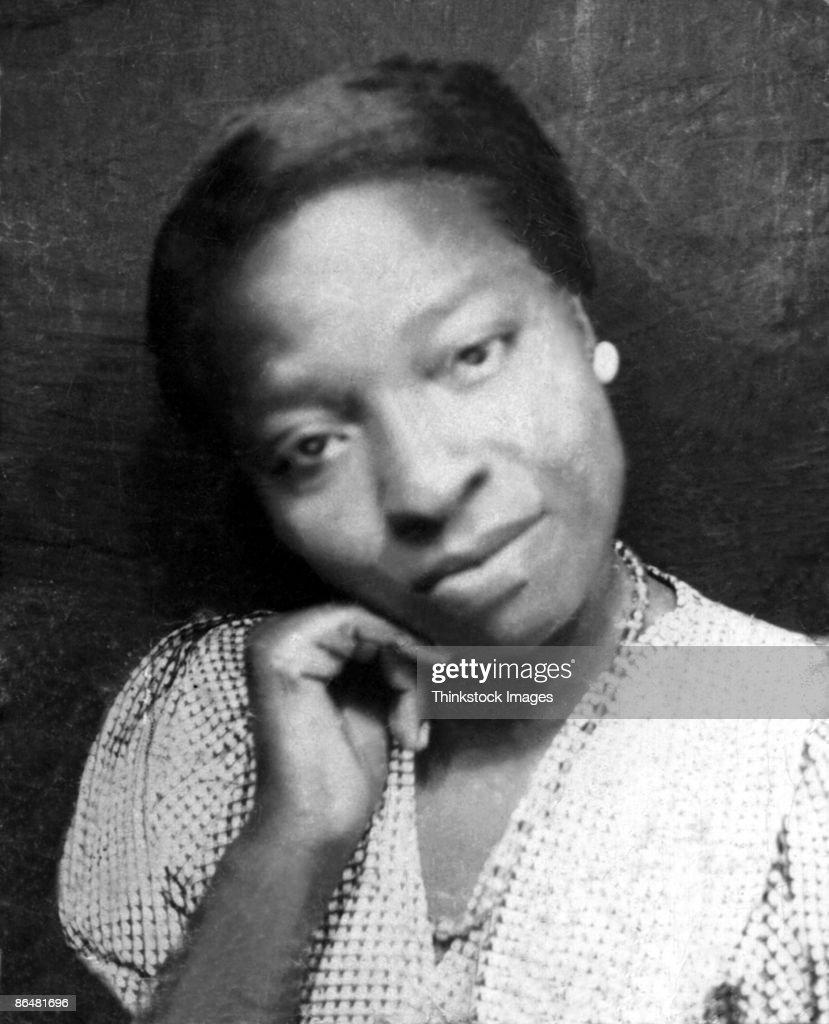 Vintage portrait of woman