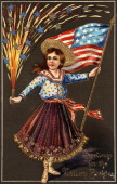 UNS: Fun And Fireworks - Vintage 4th Of July Postcards