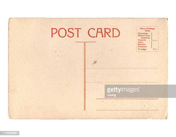 Vintage Postcard  With Copy Space