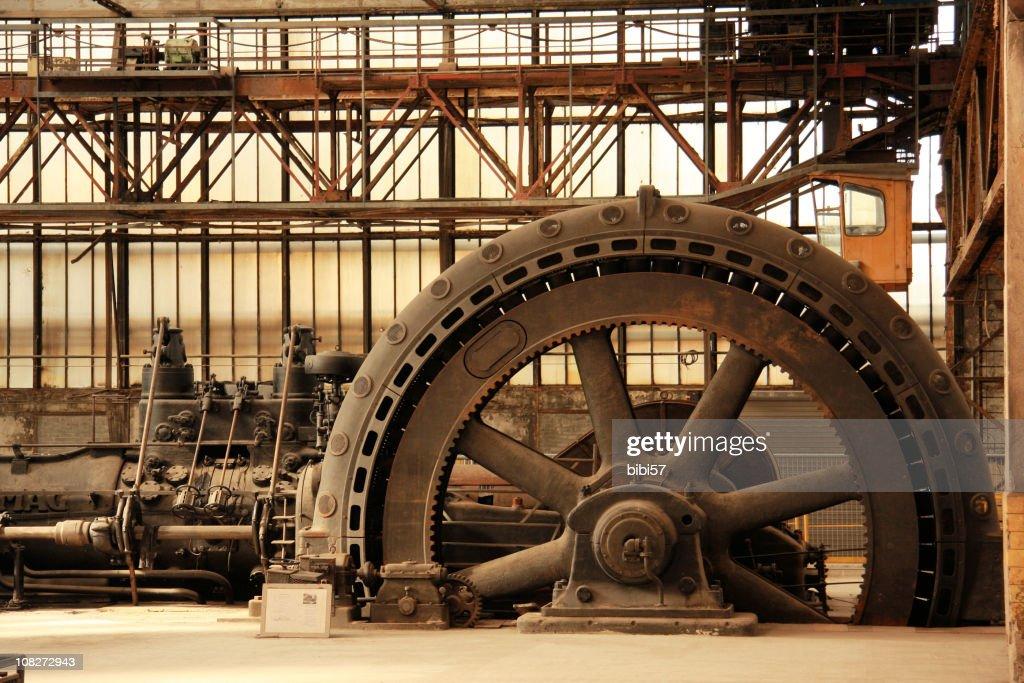 vintage power generator : Stock Photo