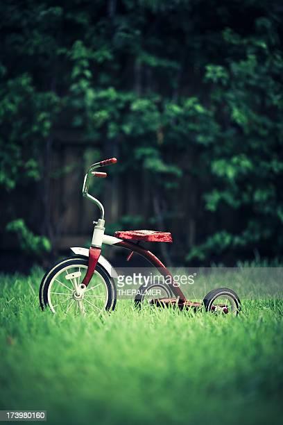 vintage Rot kid Dreirad