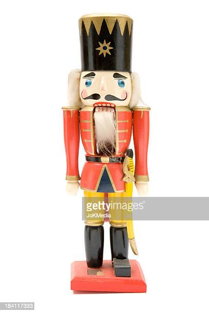 Vintage Red Nutcracker Soldier