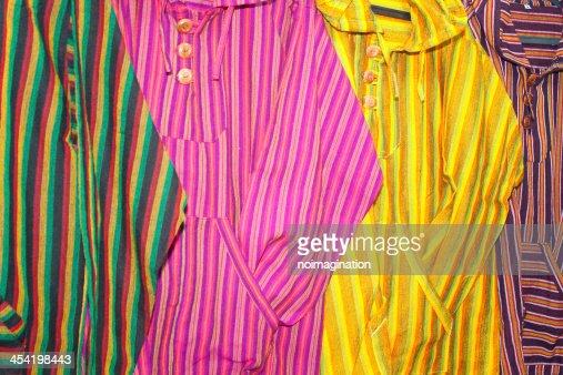 Vintage camisas : Foto de stock