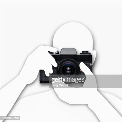 Vintage SLR camera : Stock Photo