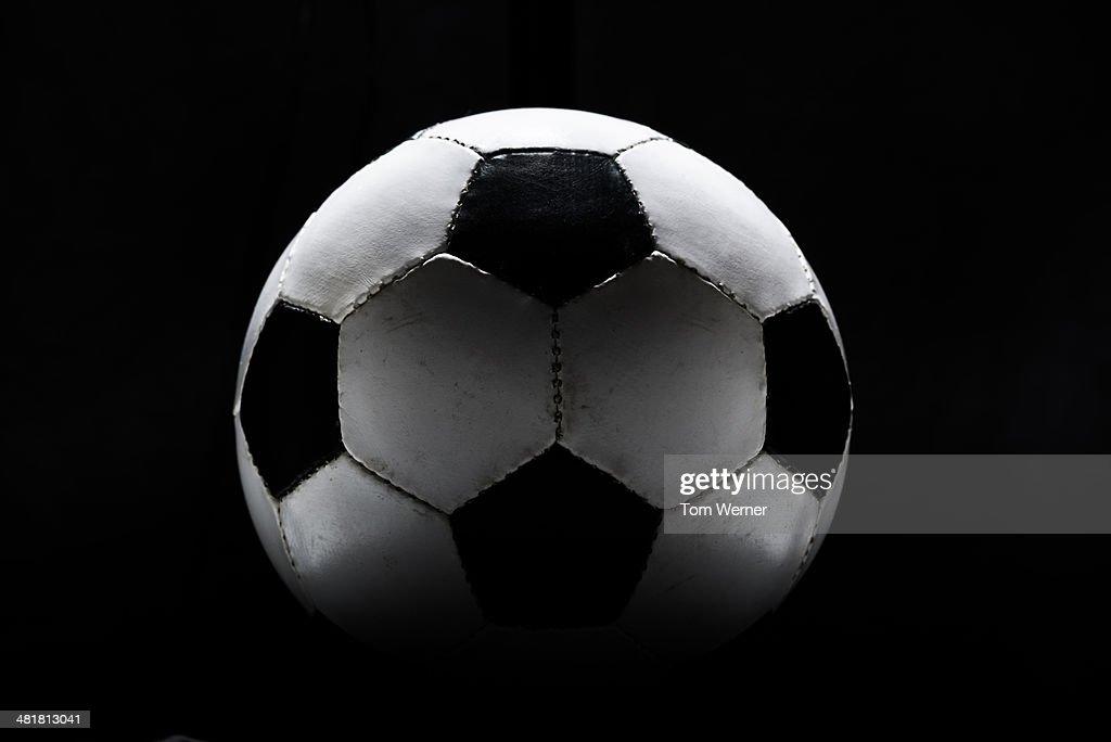 Vintage Soccer Ball : Stock Photo