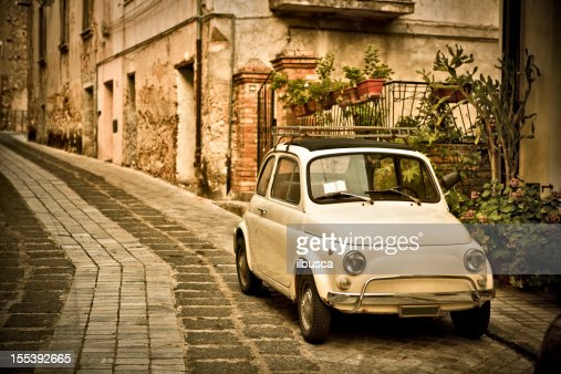 Vintage Southern Italy Village (Calabria region)