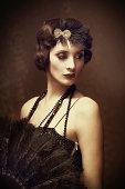 vintage style woman