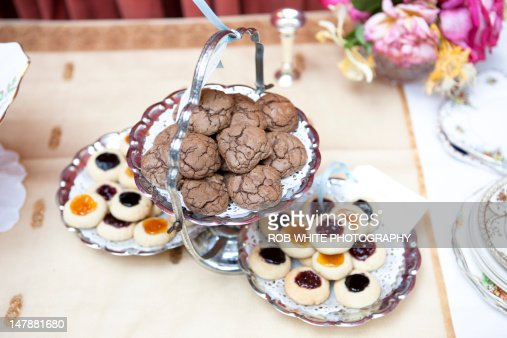 Vintage Tea Party : Stock Photo