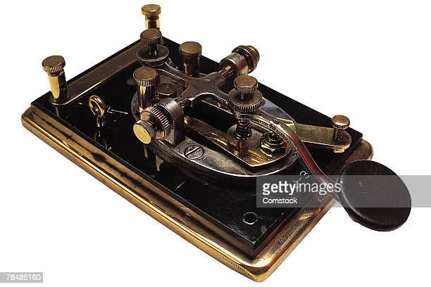 Vintage telegraph machine