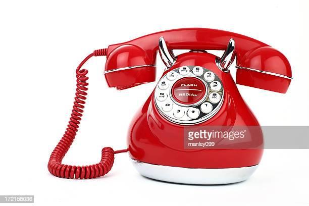 Vintage Telephone Red