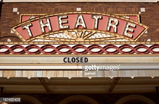Vintage Theater Marquee