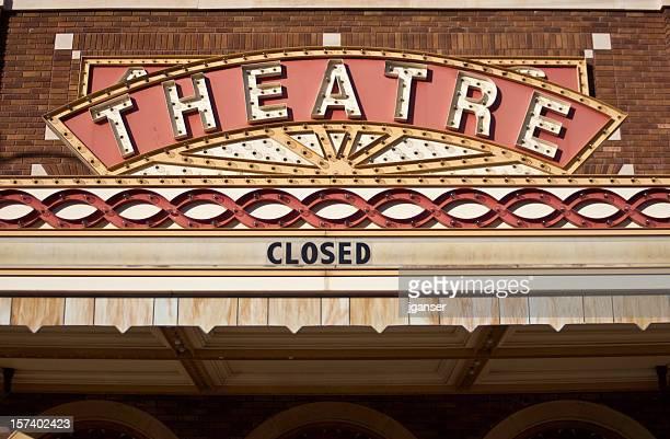 ビンテージ劇場の看板