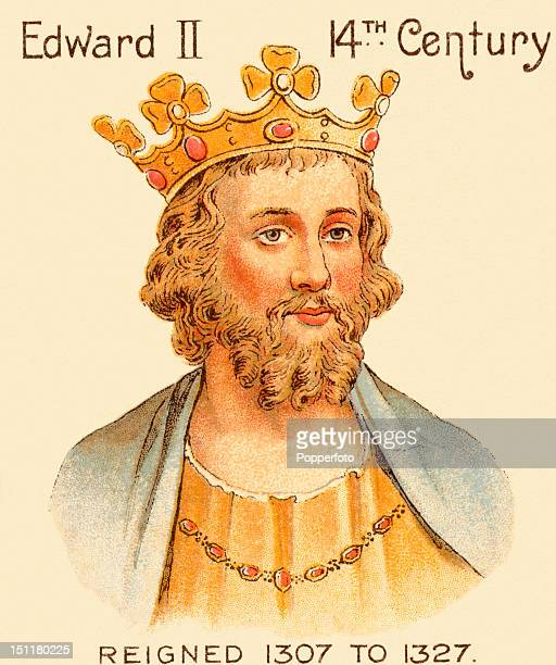 Vintage trade card with a chromolithograph portrait of King Edward II issued by the Mazawattee Tea Company in 1901