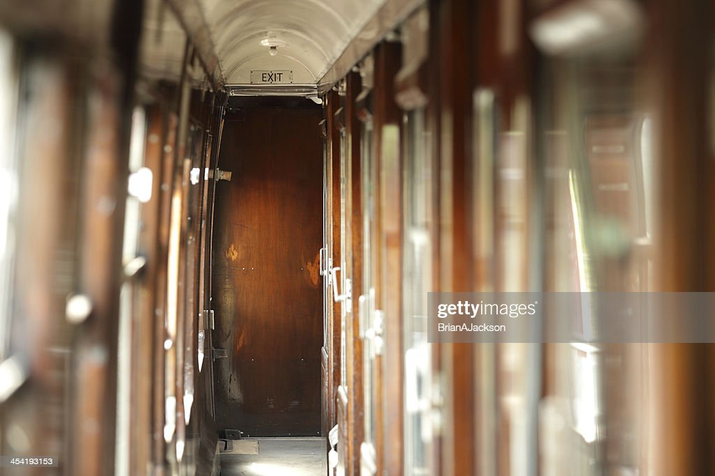 Vintage train carriage : Stock Photo
