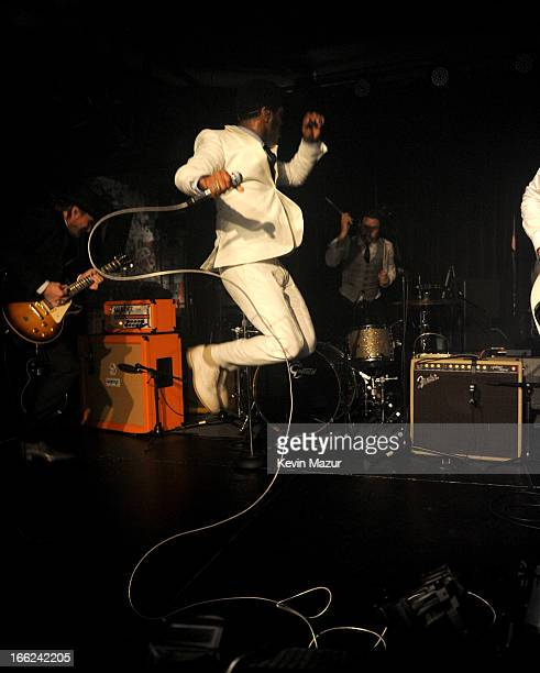 Vintage Trouble performs at John Varvatos Bowery NYC 5th Anniversary on April 10 2013 in New York City
