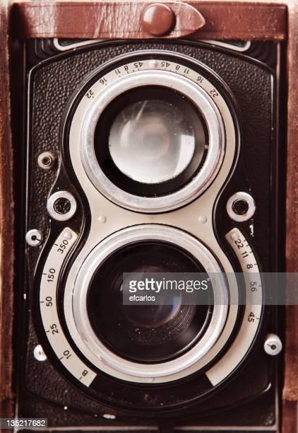 Vintage two lens reflex