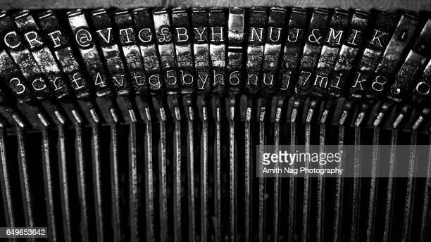 Vintage Typewriter Letterheads