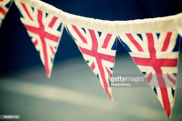 Vintage Union Jack Flag Bunting