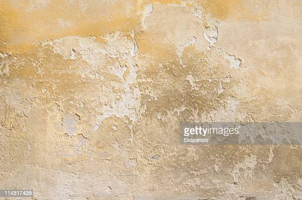 Vintage wall showing the effects of weathering