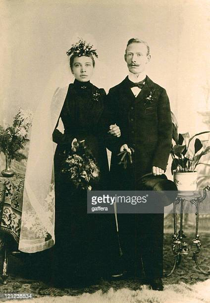 vintage wedding in 1898