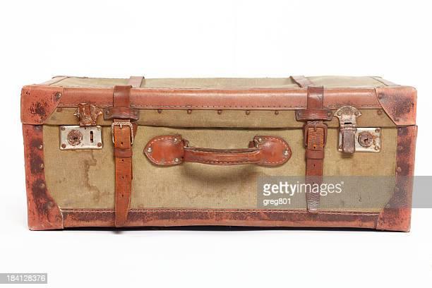 Weitgereisten Vintage Koffer XXXL