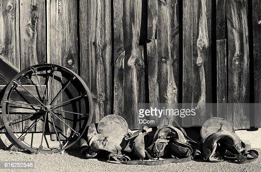 Vintage Wild West : Foto de stock